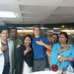 Bringing heart over dinner with participants in Bangladesh