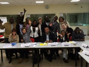 Interpersonal Conflict Management training at the International Labour Organisation's training centre in Turin, Italy